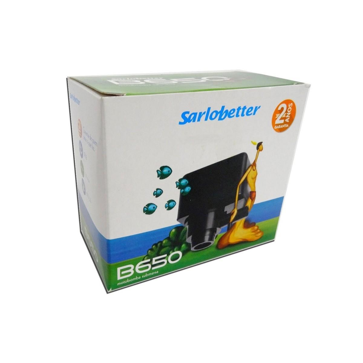 Bomba Submersa Sarlo Better B650 650l/h - 110v