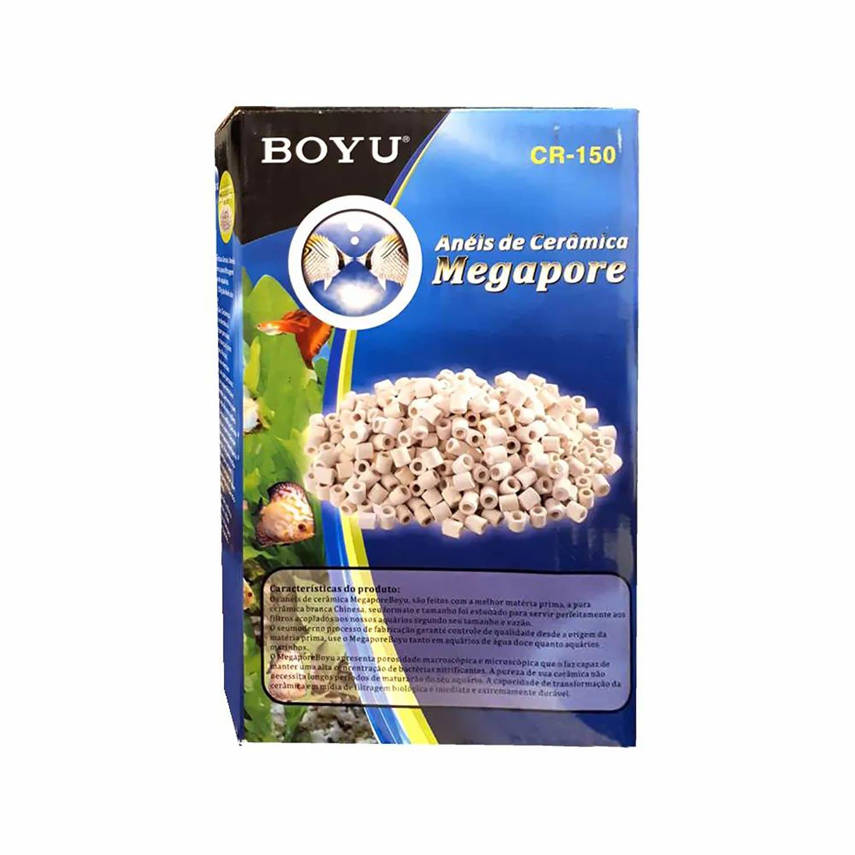 Anéis de Cerâmica Boyu Megapore CR 1000 1kg