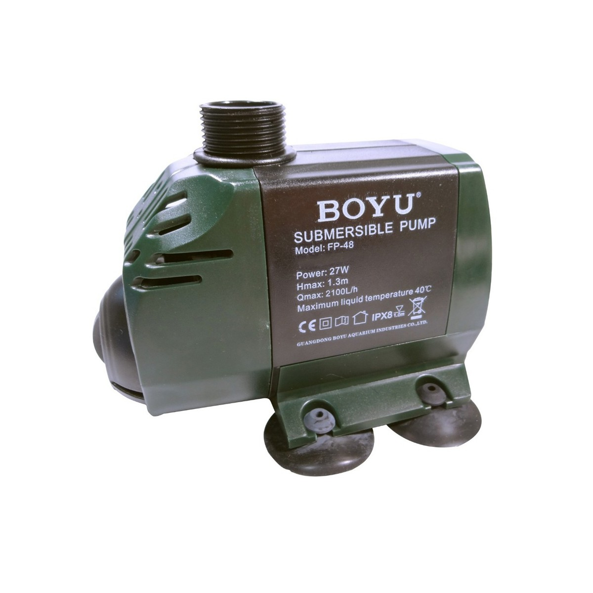 Boyu Bomba Submersa Aquários e Fontes FP-48 2100l/h