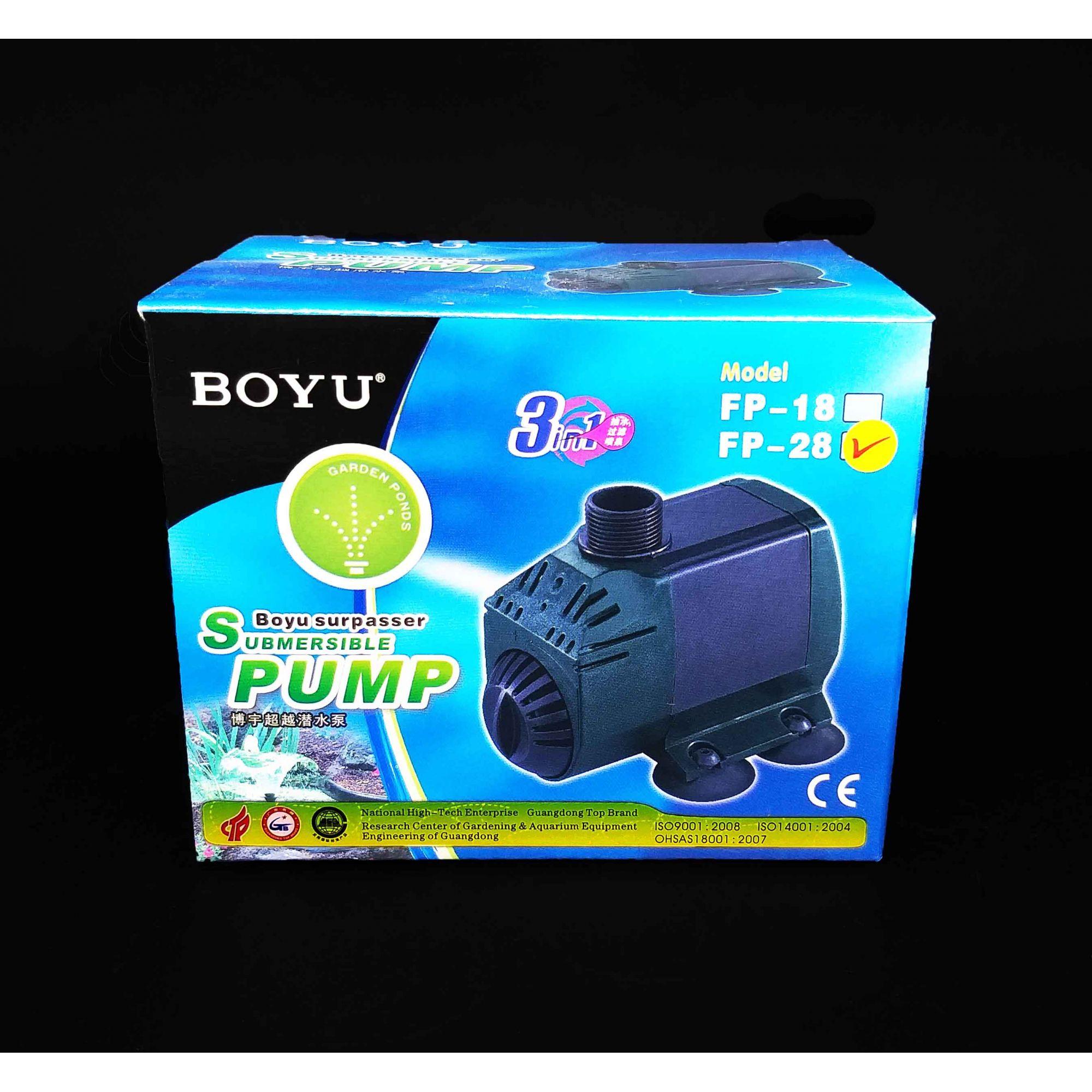 Boyu Bomba Submersa FP-28 11.5w 950l/h Produto Original