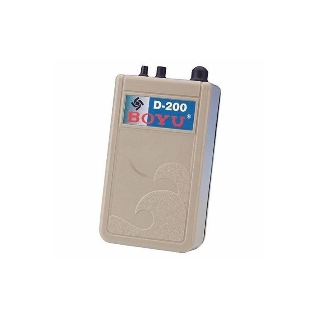 Boyu Compressor De Ar A Pilha D-200 2 L/min Aquario