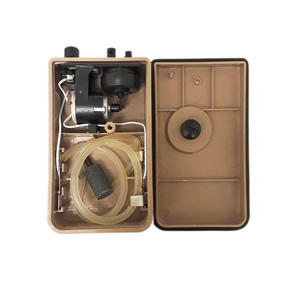 Compressor De Ar Boyu D 200 para Aquários + Pilha