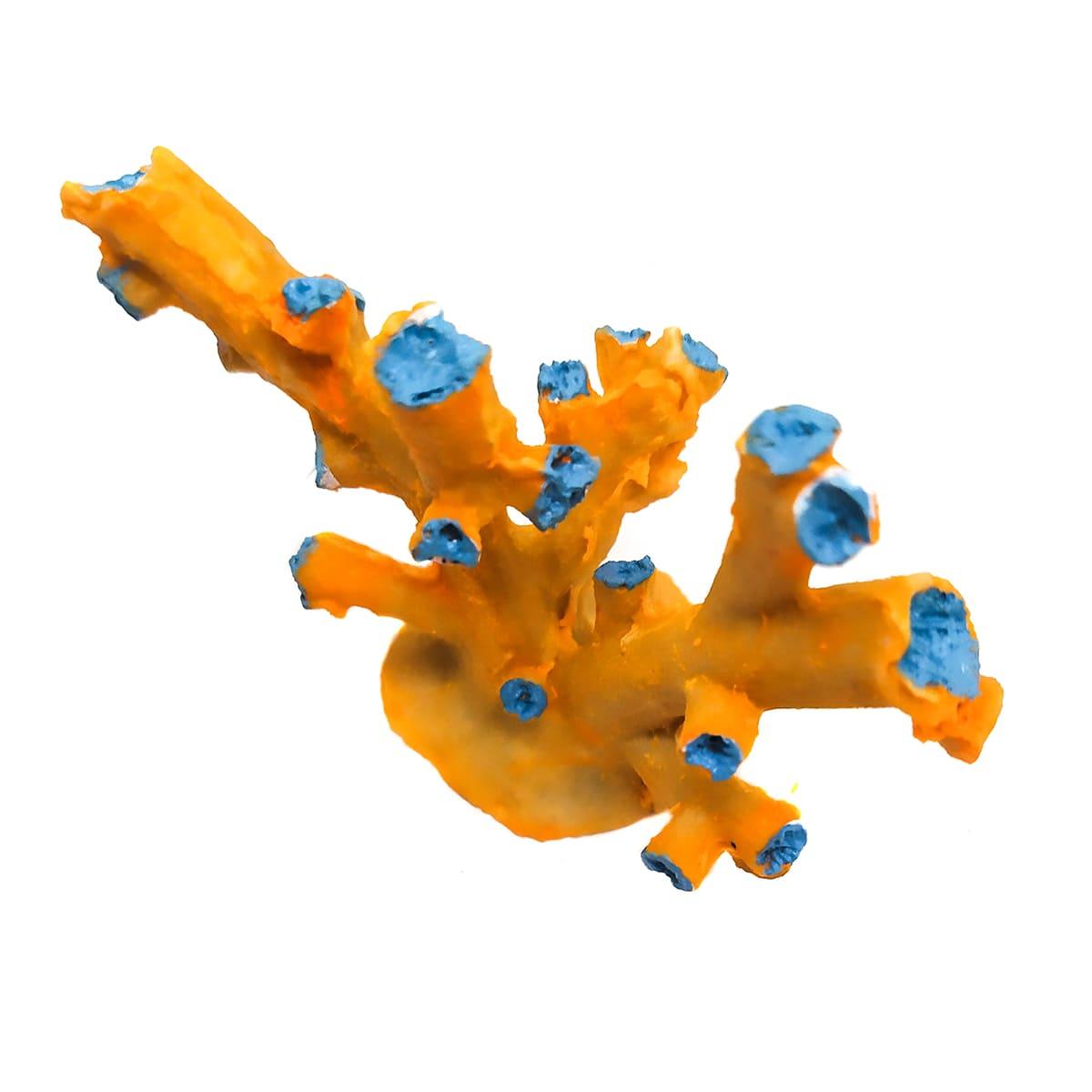 Boyu Enfeite De Resina Coral Sps Amarelo Cw-123 052001