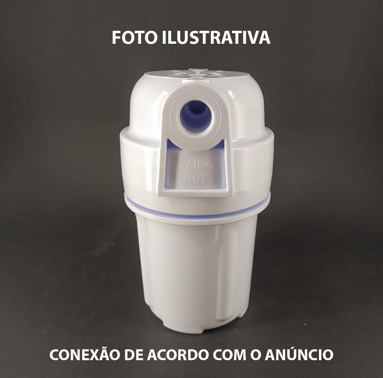 Carcaça De Filtro 5¨ Branca Conexão 3/4