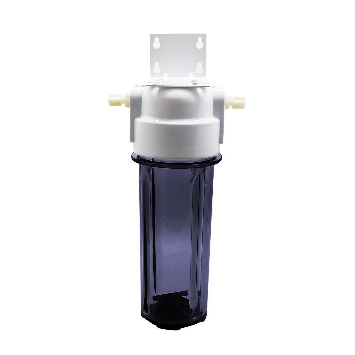 Carcaça Transparente 10º Com Conector e Suporte