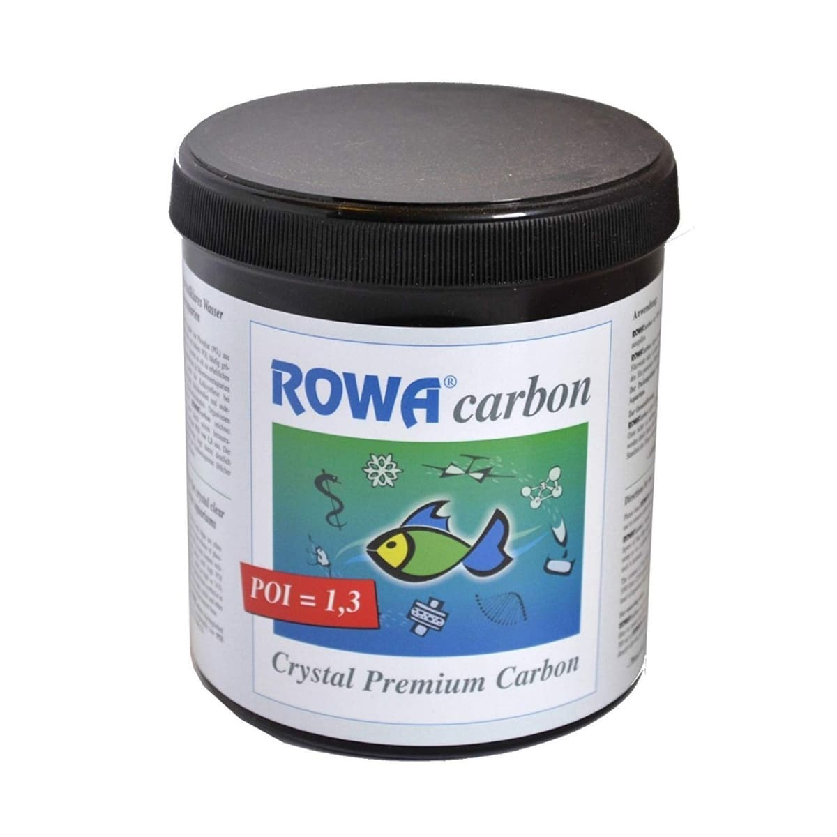 Carvão Ativado Premium DD Rowa Carbon - 250g