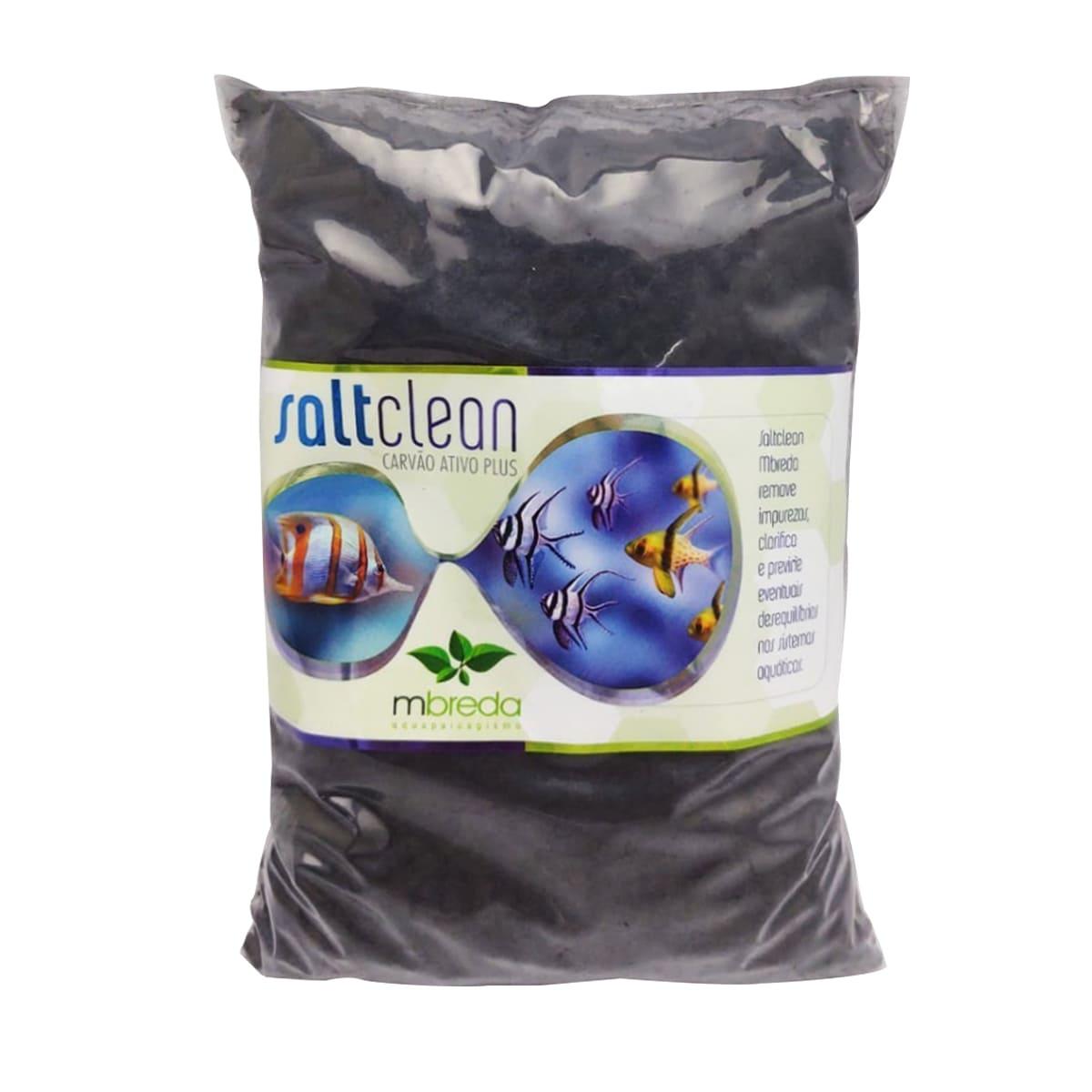 Mbreda Saltclean Plus (Refil) 500g Carvão Ativado Premium