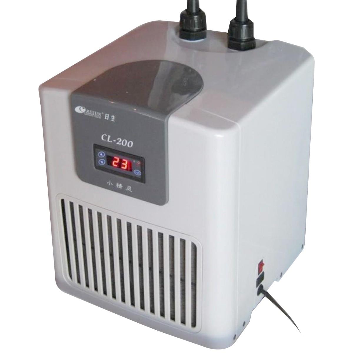 Chiller Resfriador Resun CL-200 1/13HP Aquário de 160 a 225L