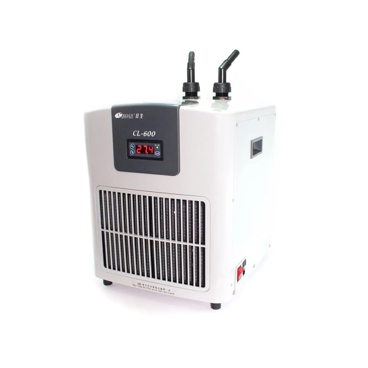 Chiller Resfriador Resun CL-600 1/4HP Aquários até 650 L