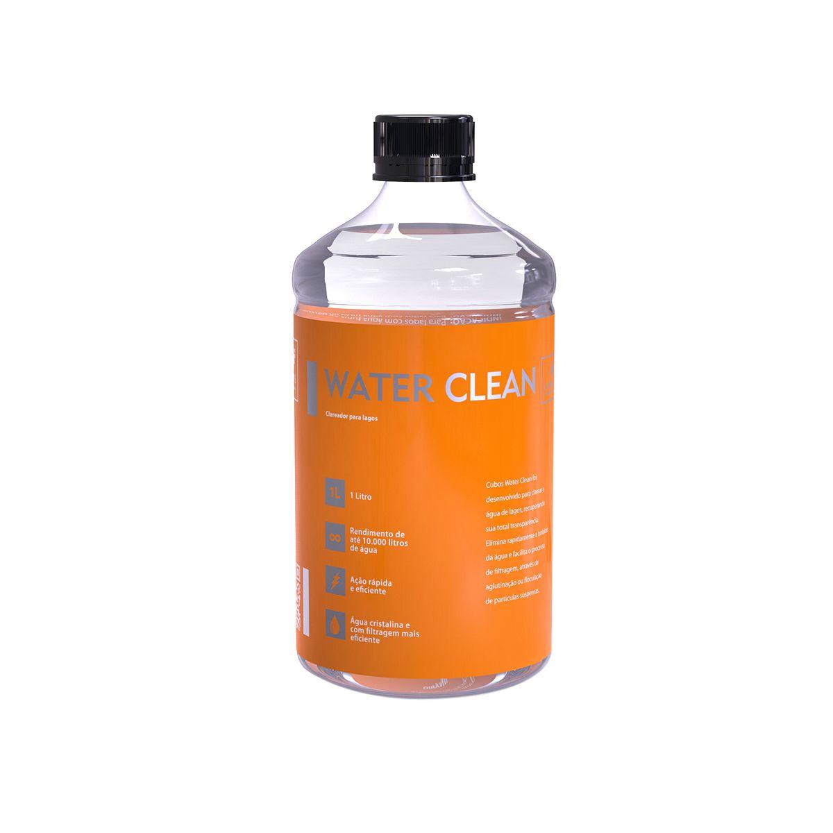 Clarificante para Lagos CUBOS WATER CLEAN - 1 LITRO