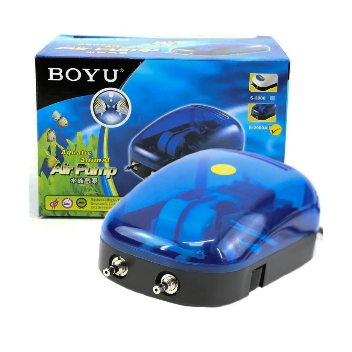 Compressor de Ar Boyu S 2000A Duas Saídas 4,0 l/min