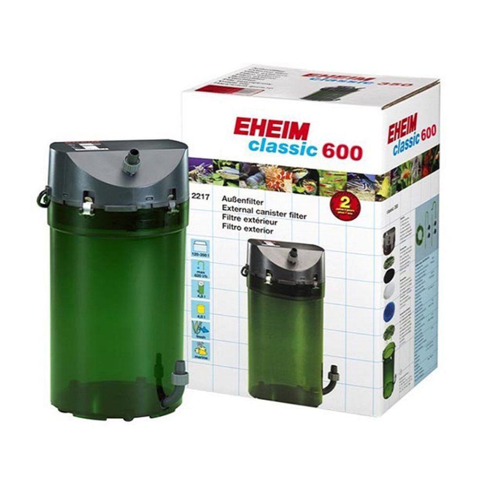 Filtro Canister Eheim Classic 600 2217 Para Até 600l 1000l/h