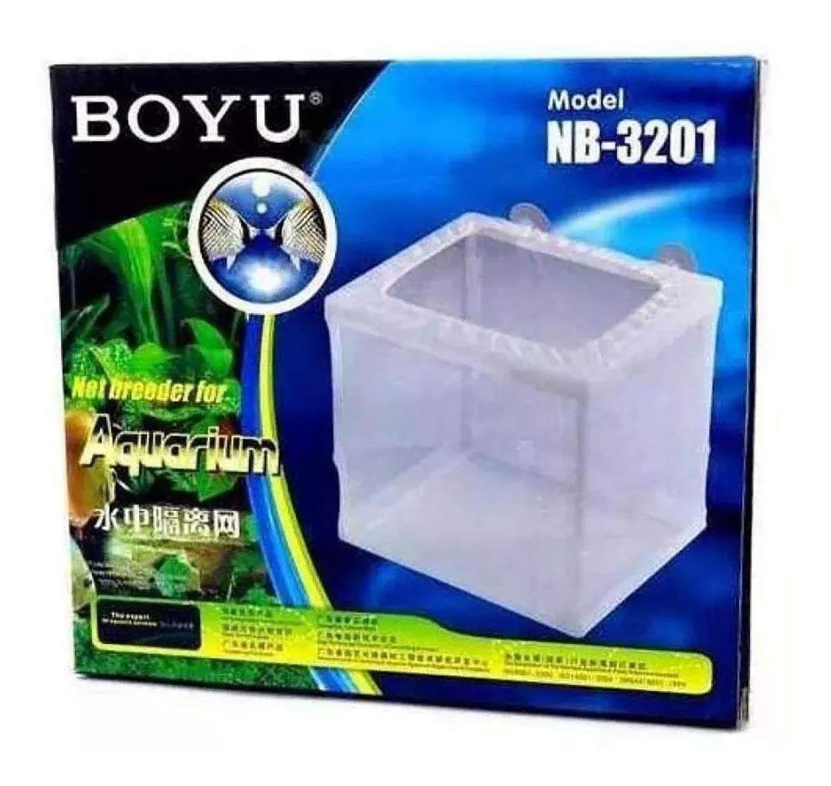Criadeira Para Peixes Boyu Com Tela Nb 3201