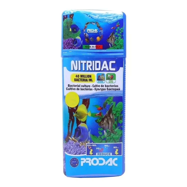 Cultivo de Bactéria Prodac Nitridac 250 Ml