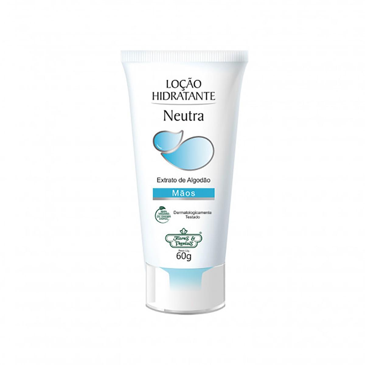 Desodorante Antitranspirante Neutro Flores e Vegetais 60g