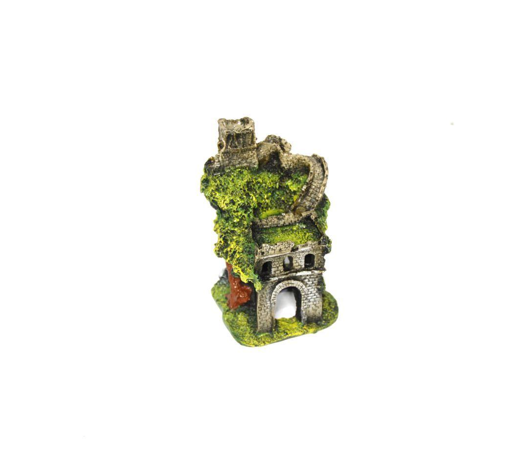 Enfeite de Resina Castelo Médio para Aquários - Fragata