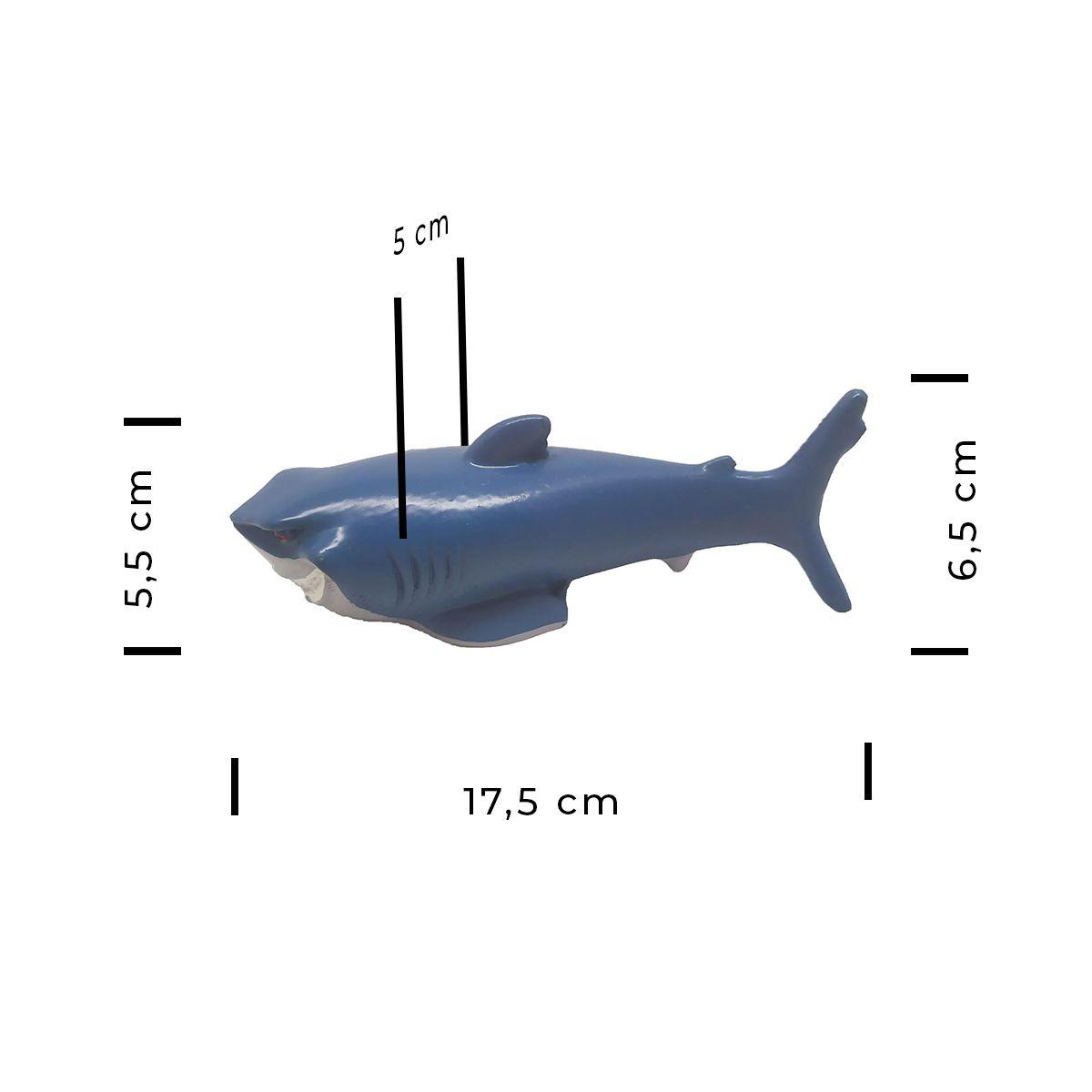 Enfeite para Aquários Tubarão Grande - Fragata Ornamentos