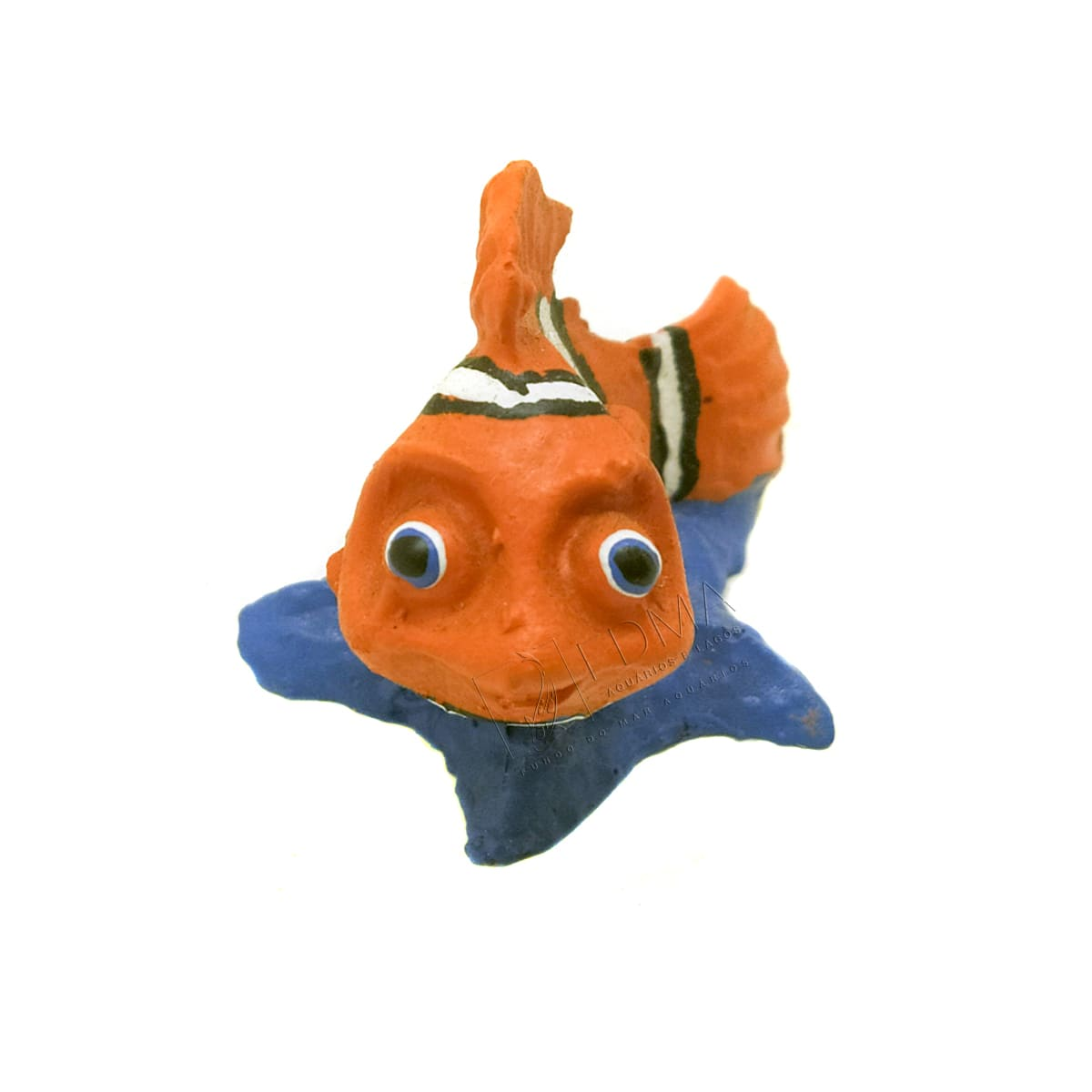 Enfeite Peixe Palhaço (Nemo) Fragata Aquários e Decoração