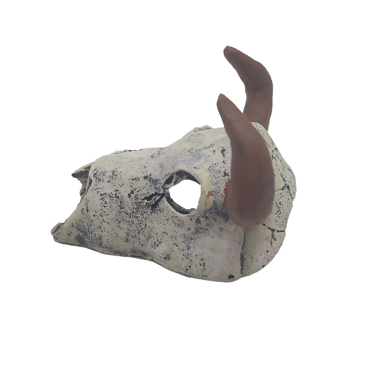 Enfeites para Aquários Cabeça de Touro - Fragata Ornamentos