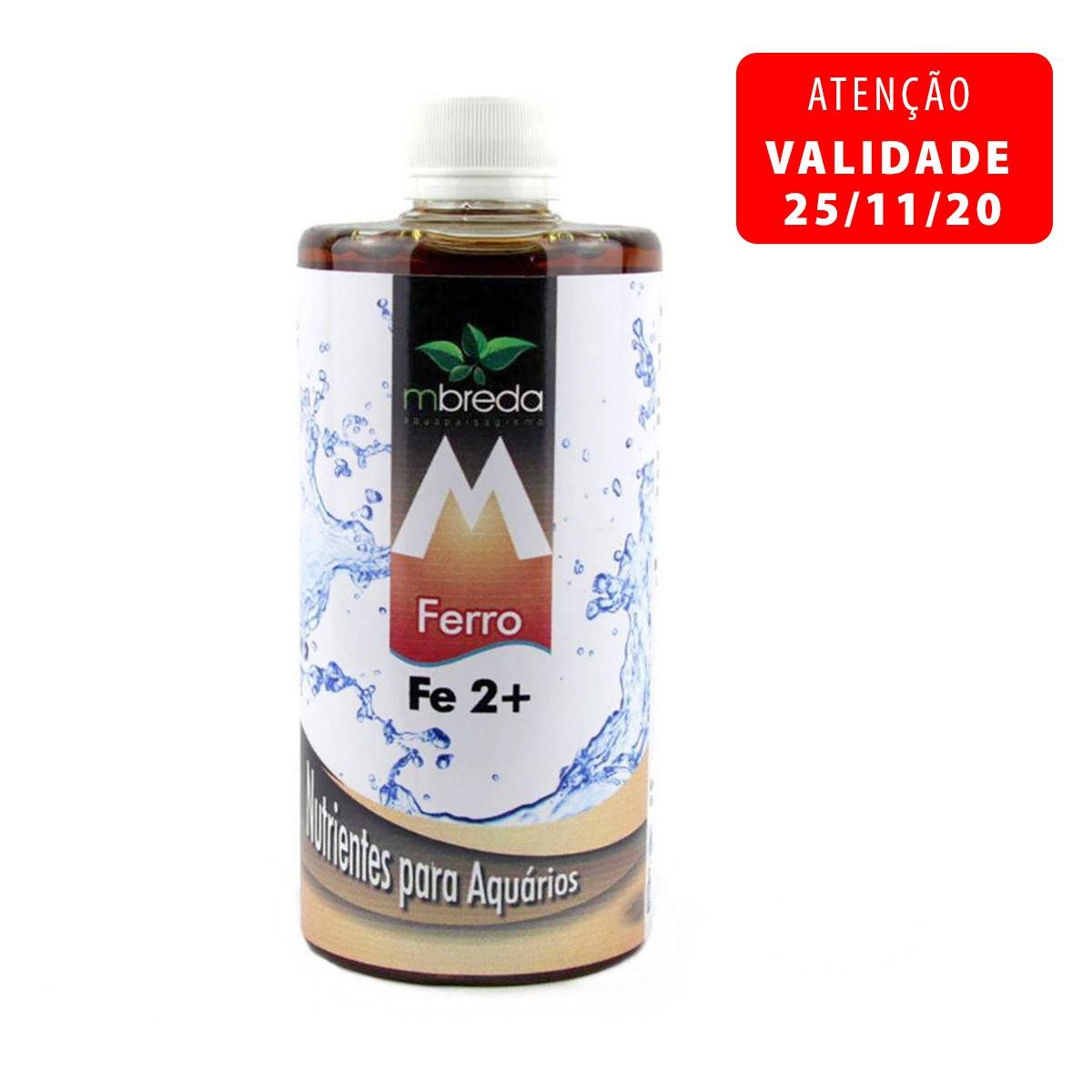 Fertilizante Mbreda Fe2+ 500ml Ferro P/ Aquários Plantados