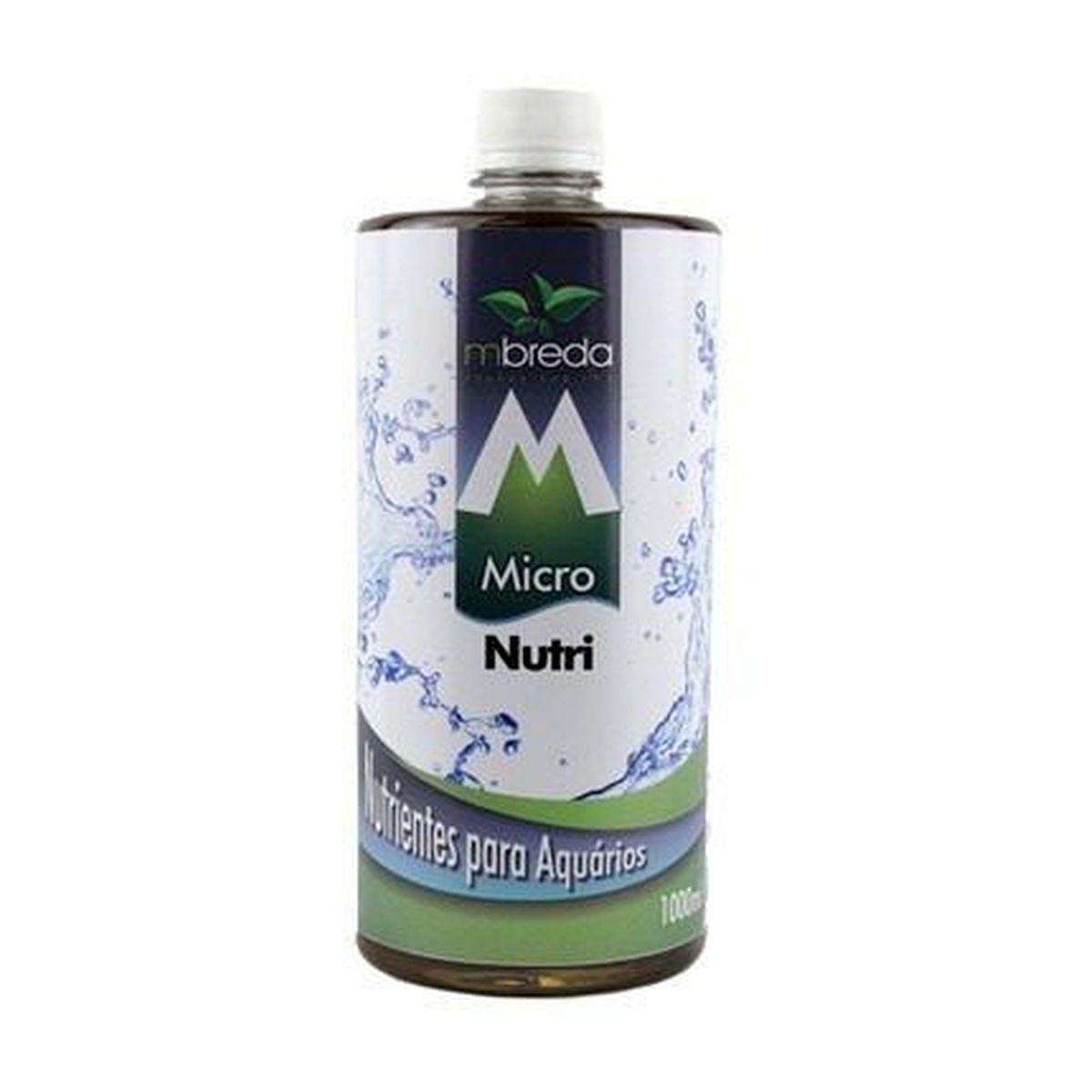 Fertilizante Mbreda Micronutri 1litro Nutrientes P/ Aquários