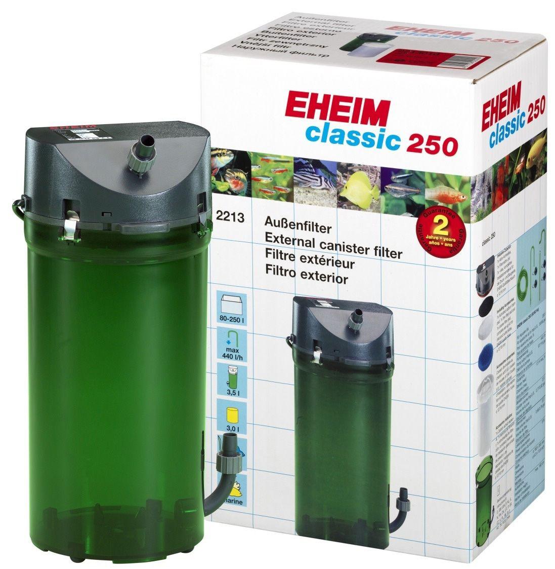 Filtro Canister Eheim Classic 250 2213 Para Até 250l 400l/h