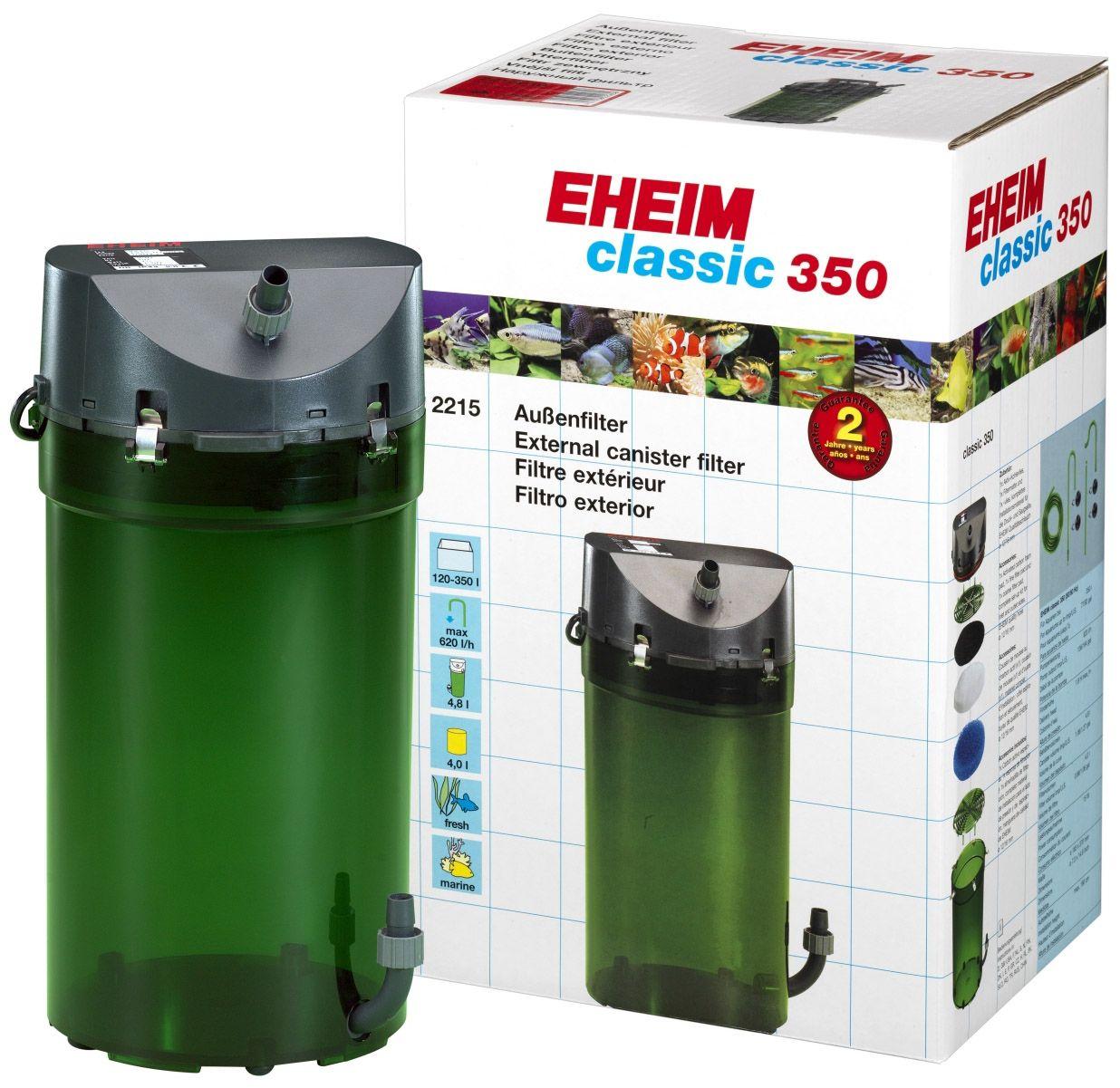Filtro Canister Eheim Classic 350 2215 Para Até 350l 620l/h