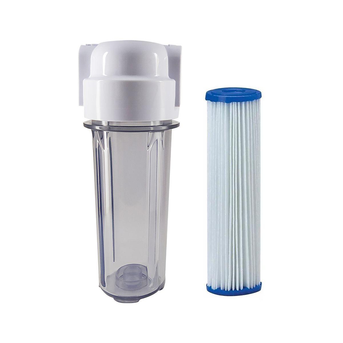 Filtro De Água para Cavalete 10' - Retenção Sujeira