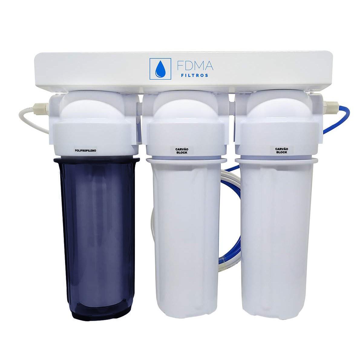 Filtro Deionizador 3 Estagios Cerveja e Aquarios + Brinde