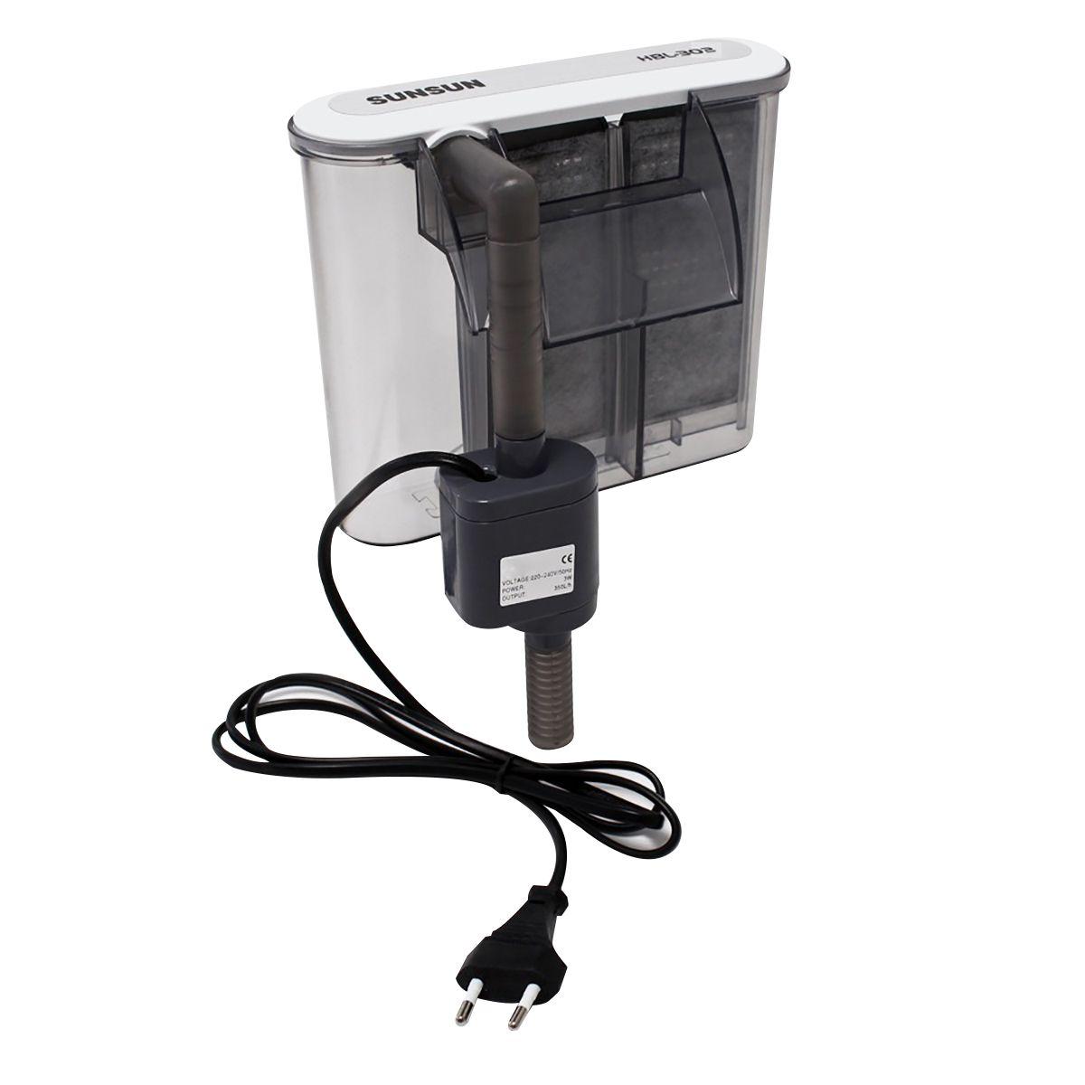 Filtro Externo Sunsun HBL-302 350 L/h Para Aquários