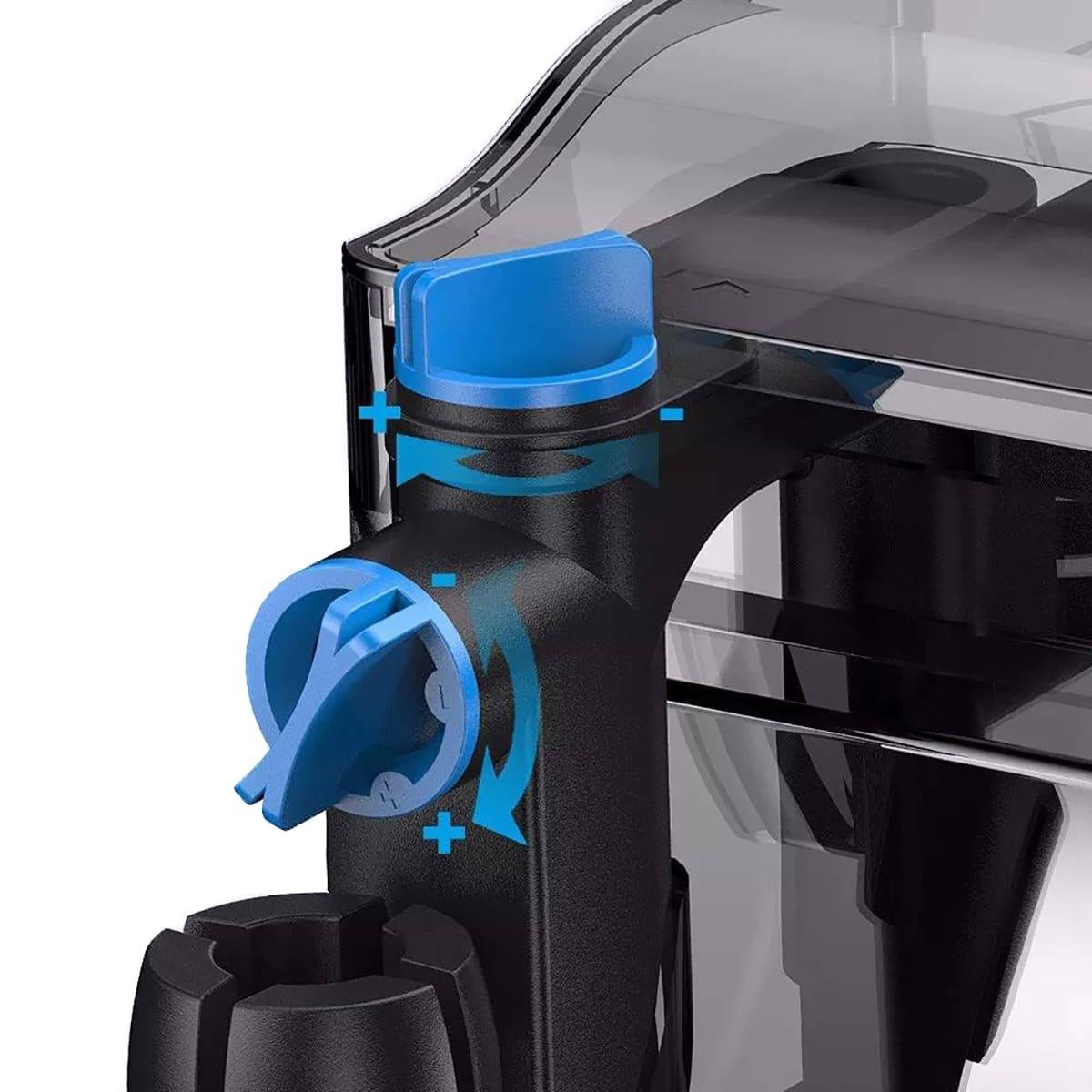 Filtro Externo + Uv Hang On Sunsun Cbg-500 500l/h 110v