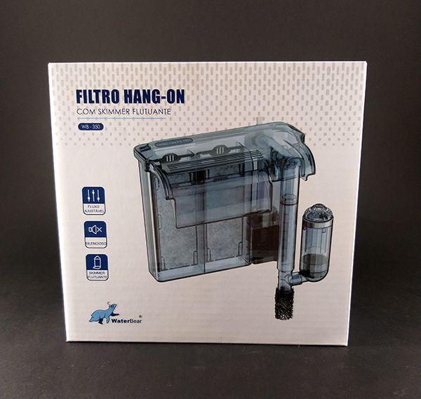 Filtro Hang on Water Bear 350l/H - Aquários de até 70 Litros