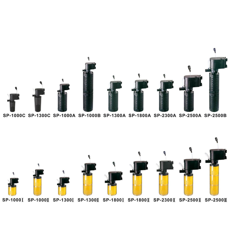 Filtro Interno para Aquários Jad SP-1000A 8w 300 L/H
