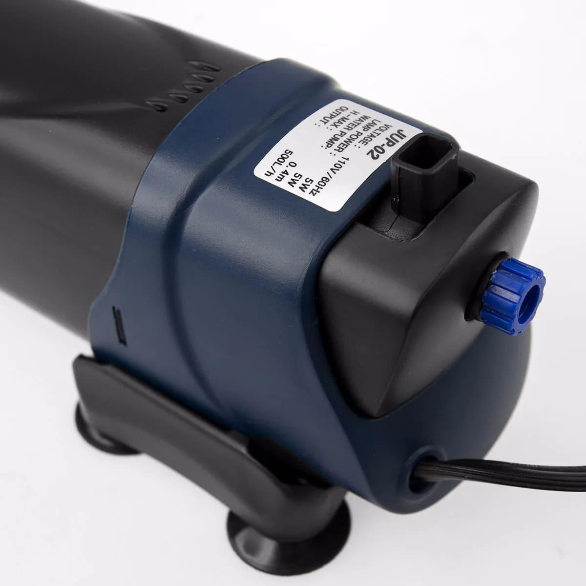 Filtro Interno Sunsun Jup-02 Uv 5w 500l/h 220v Aquarios