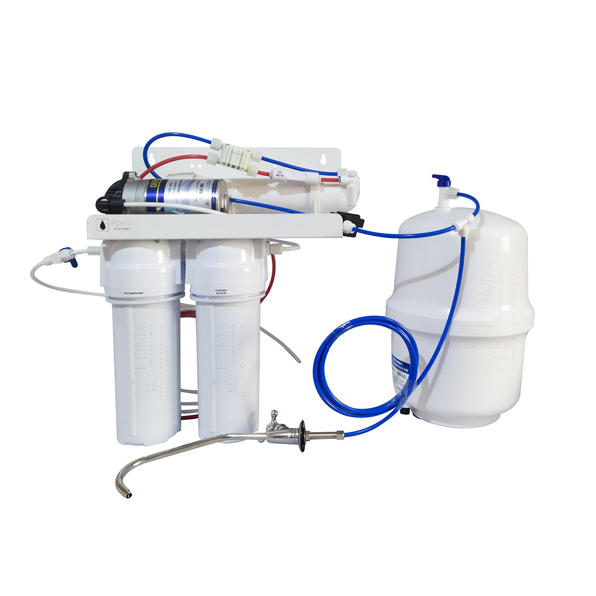 Filtro Osmose Reversa Para Consumo, Totalmente Automatizado