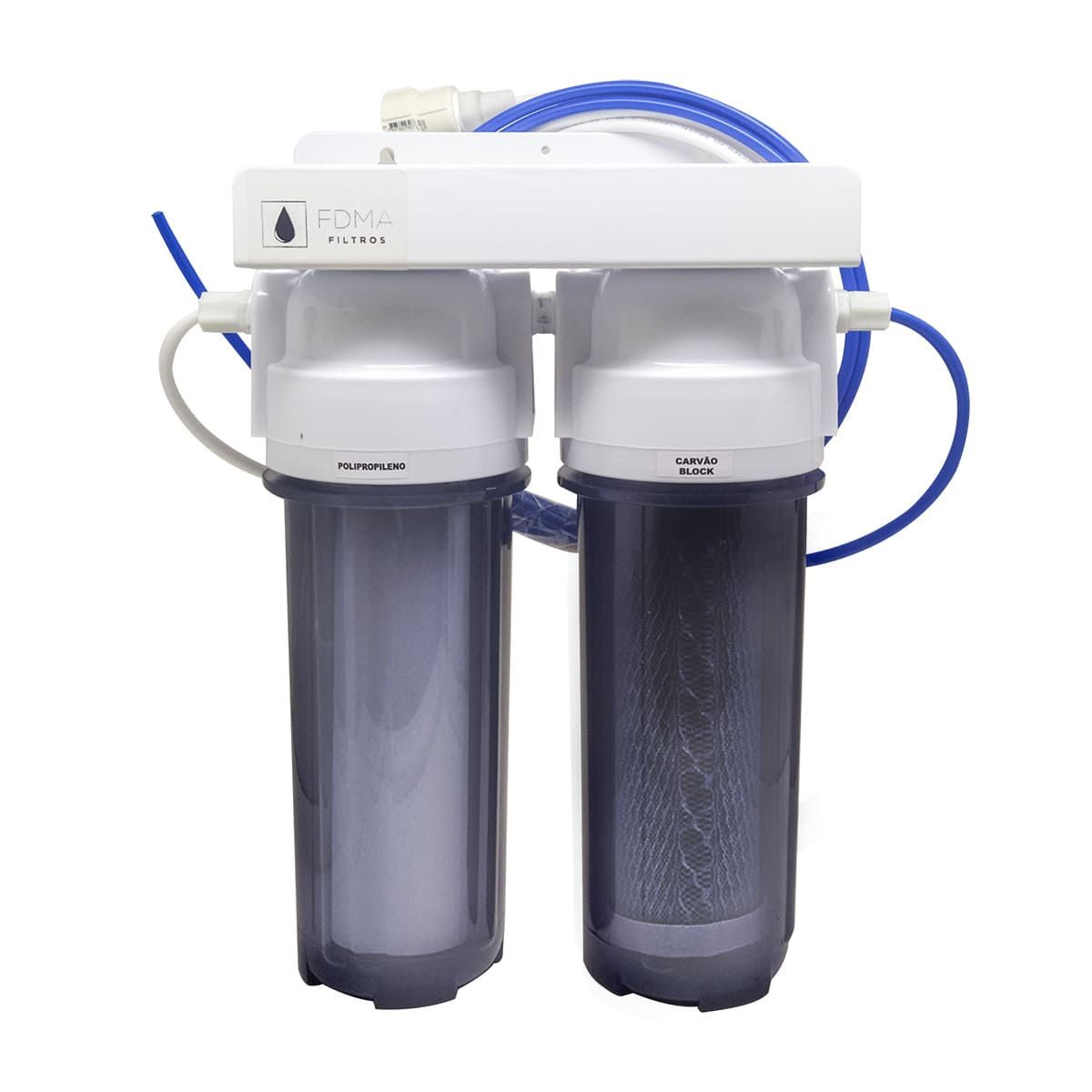 Filtro Para Aquários e Residência - 2 Estágios Remove Cloro
