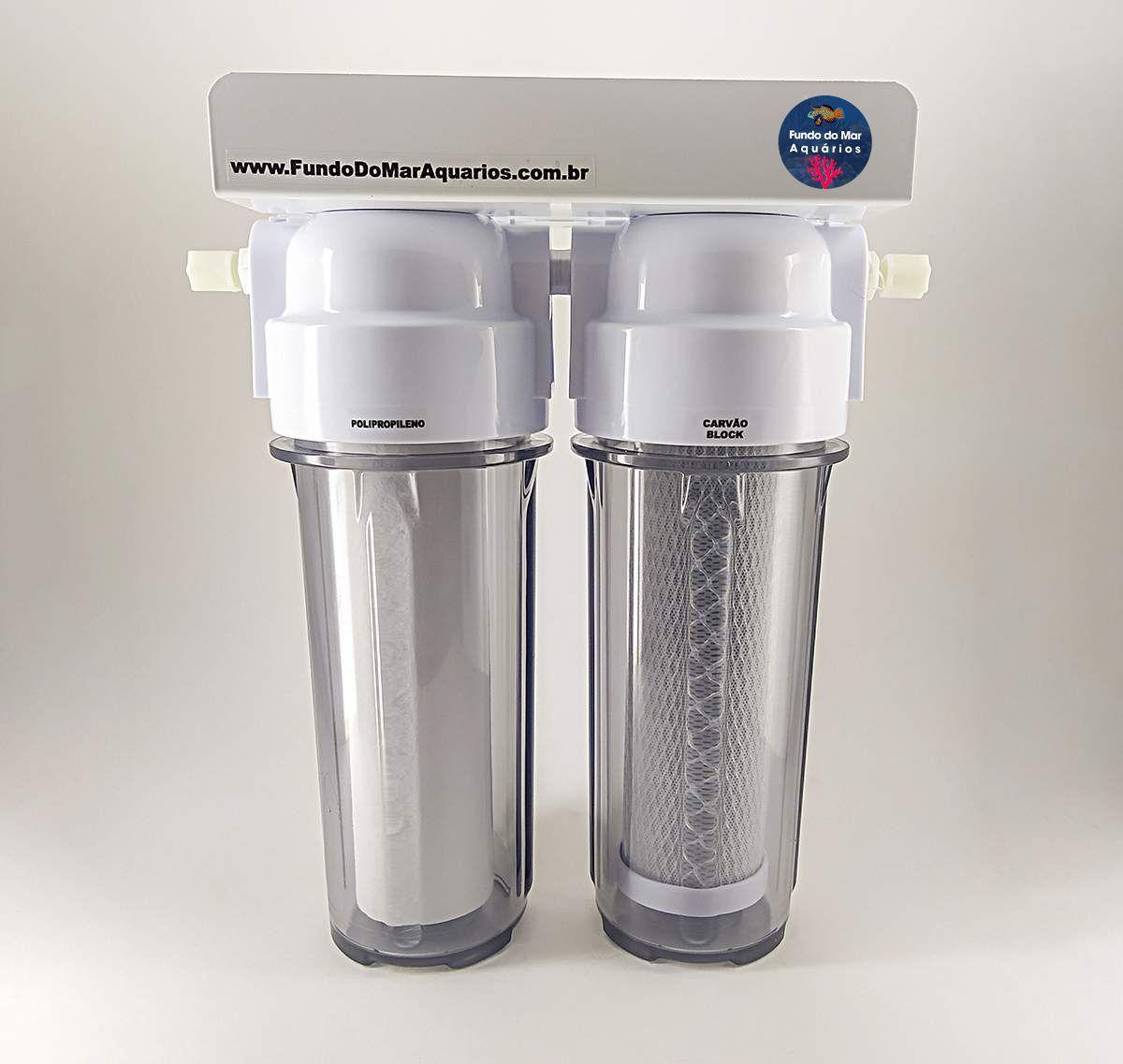 Filtro Para Aquários e Residência - Deionizador 2 Estágios