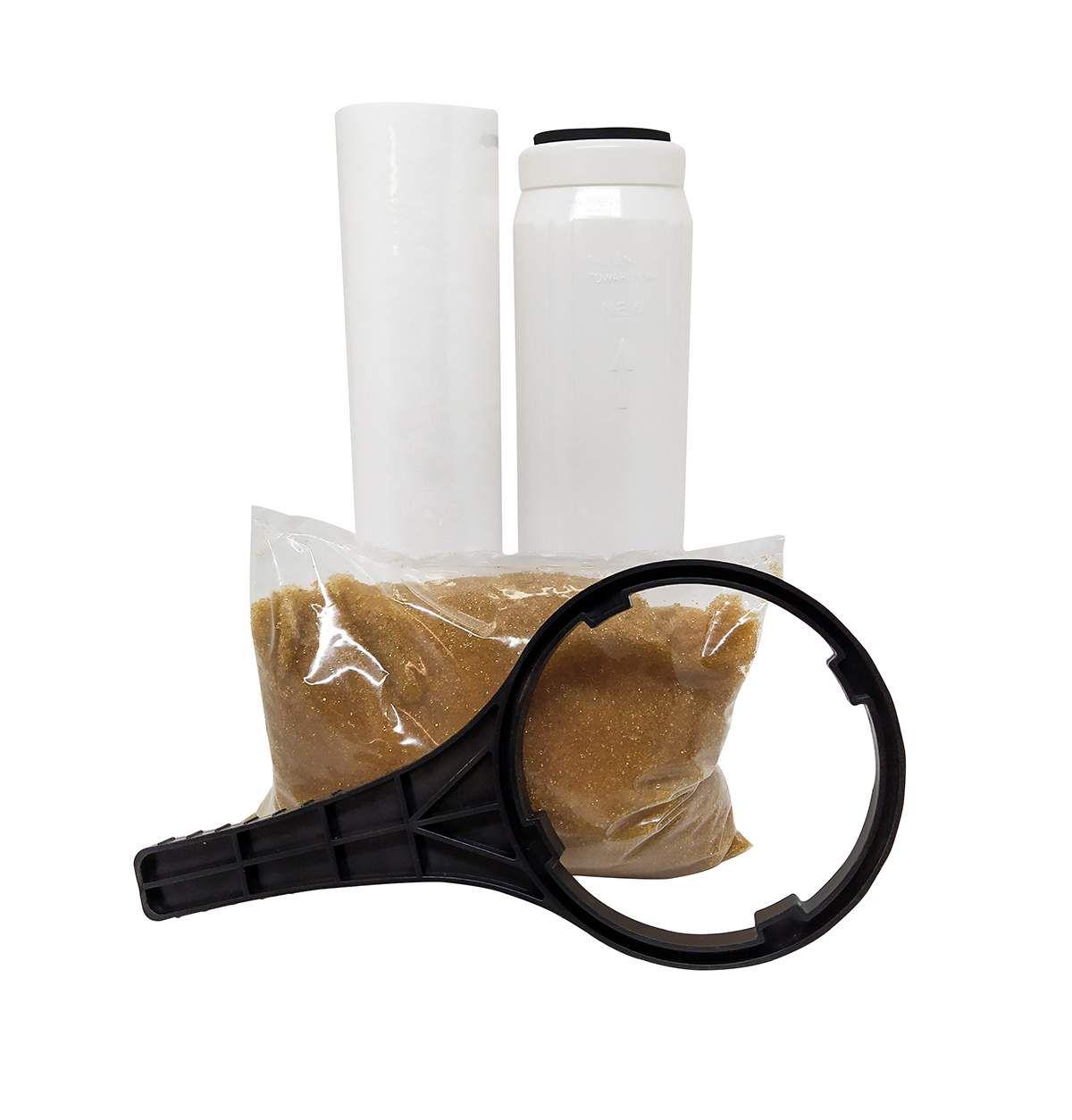 Filtro para Cerveja Artesanal  - Deionizador 3 Estágios