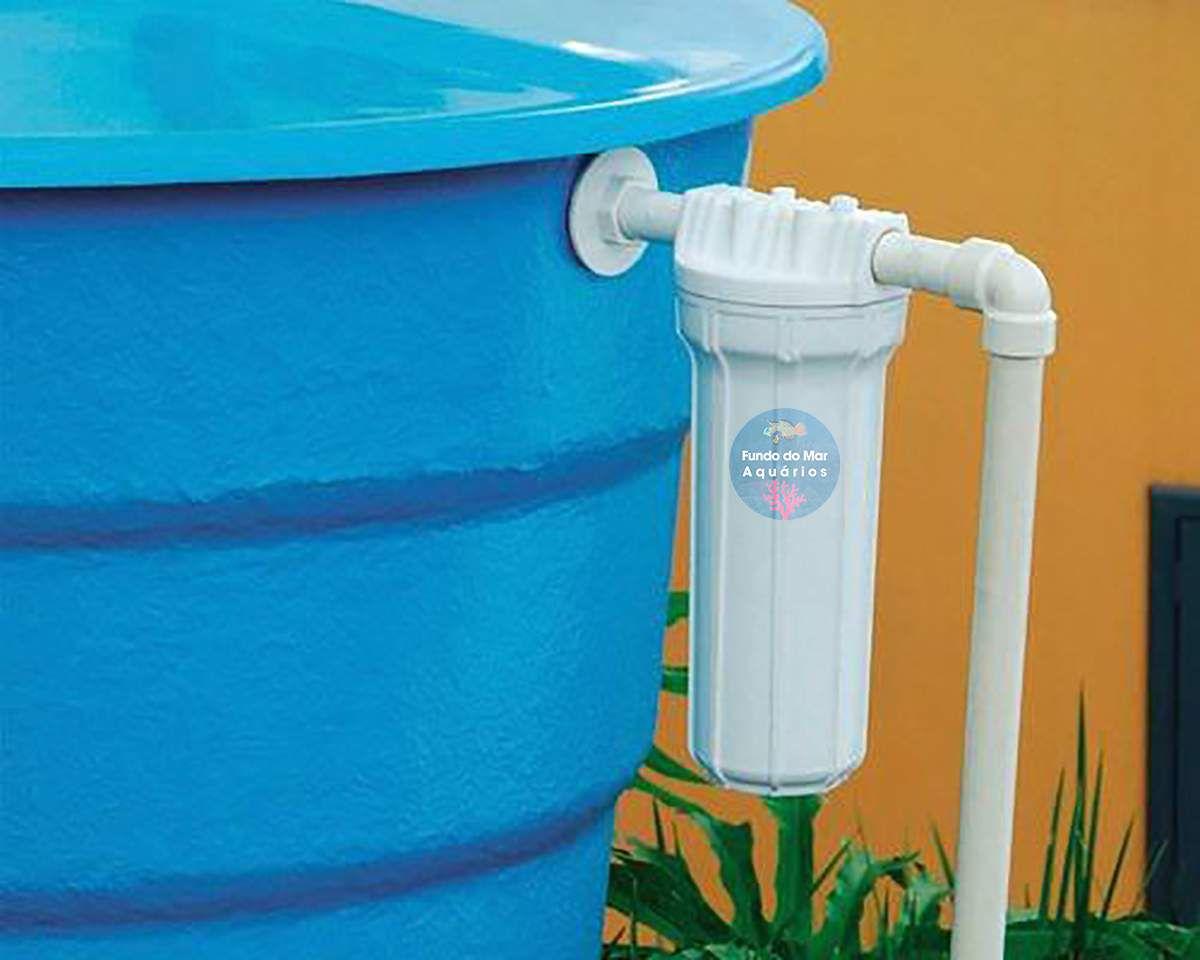 """Filtro para Entrada de Caixa D""""agua - Retenção de Sujeira"""