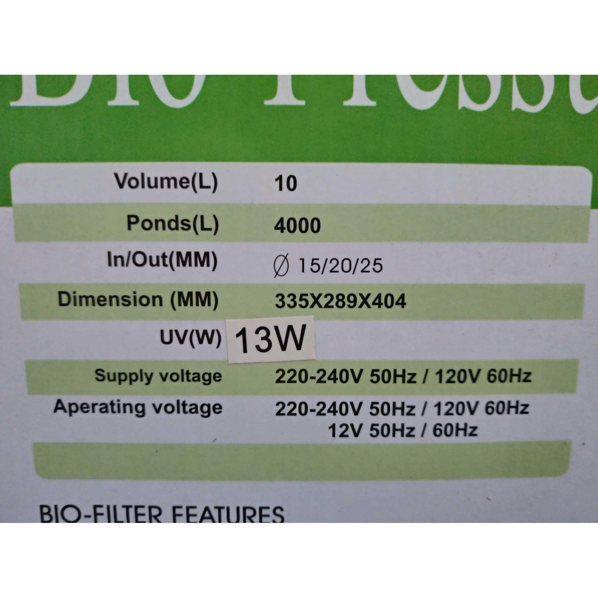 Jebao Filtro Pressurizado CF-10 110v
