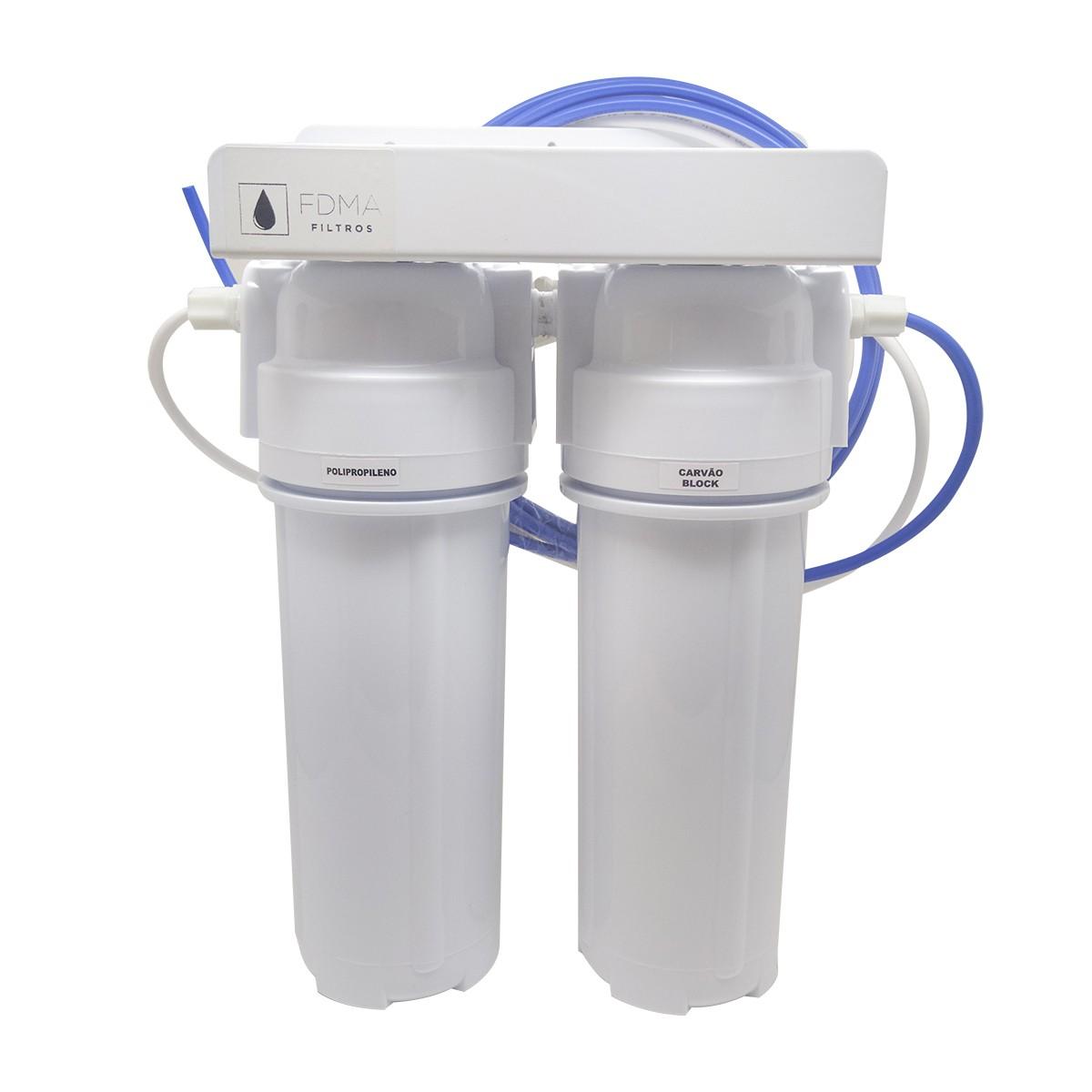 Filtro Purificador de Água  2 Estágios - Consumo Humano