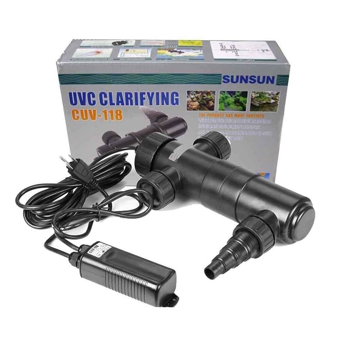Filtro UV Sunsun CUV-118 para Lagos e Aquários - 18w