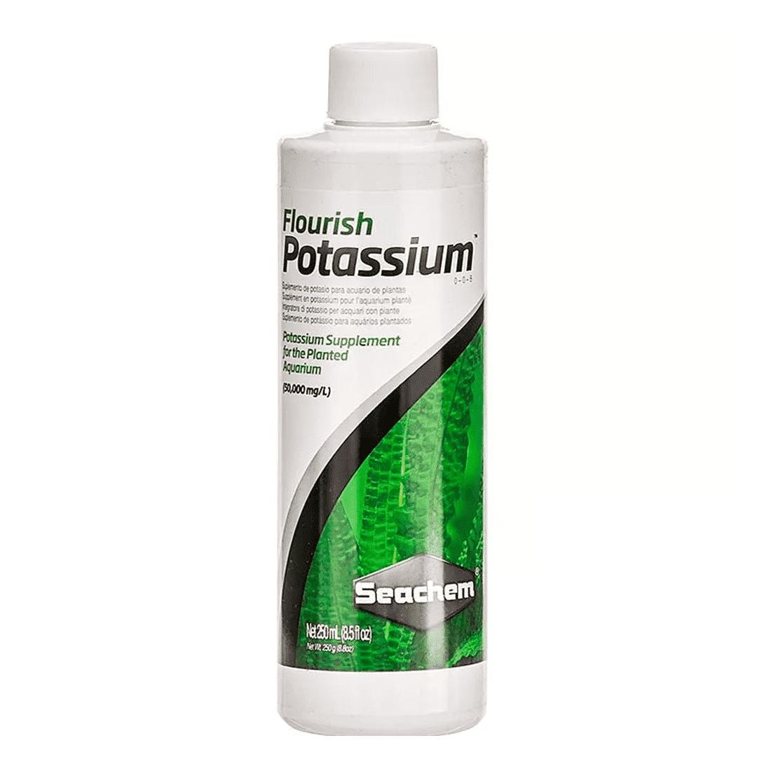 Seachem Flourish Potassium 250ml Fonte de Potássio Plantados