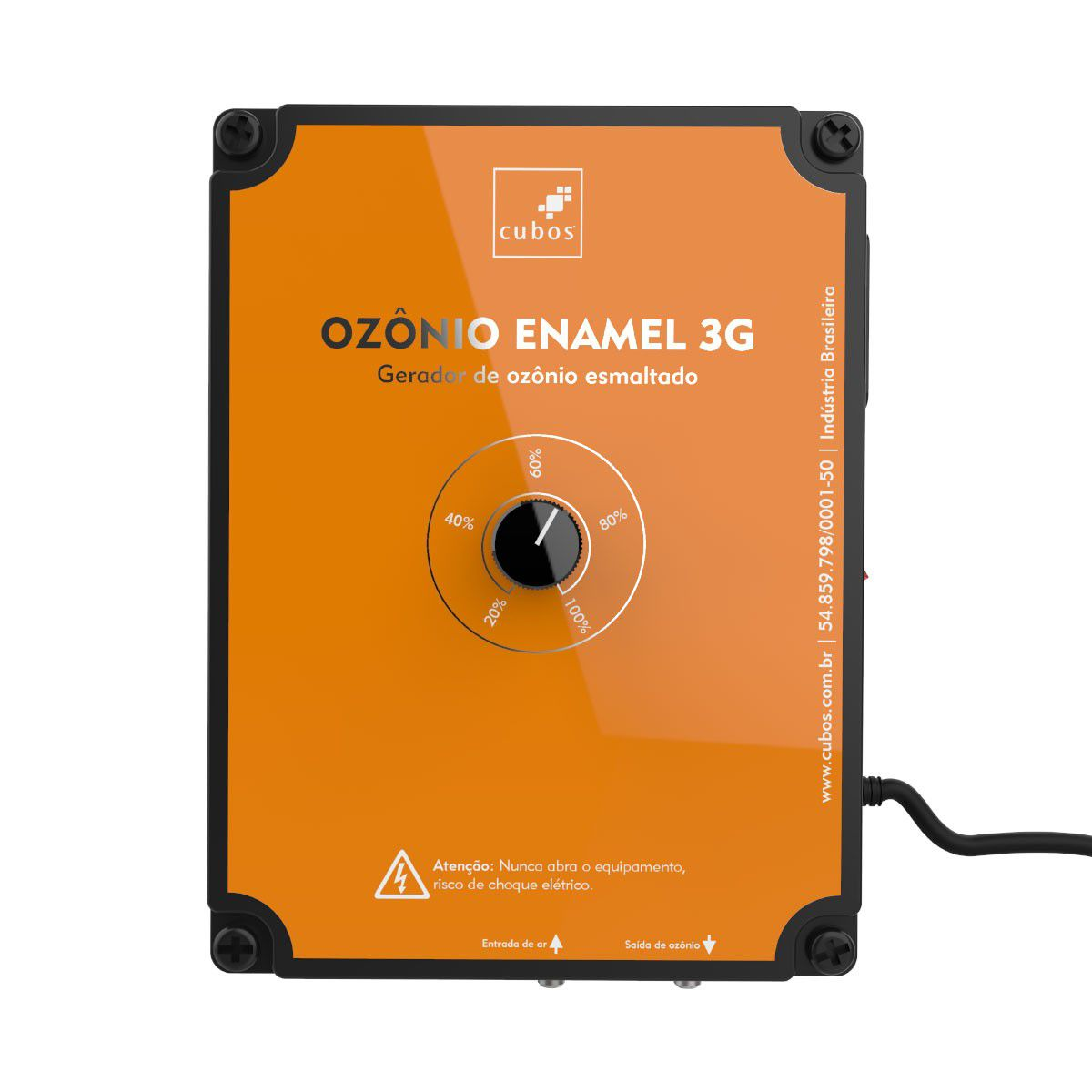 Gerador de Ozônio Cubos Enamel 3G - de 10000 a 30000 Litros