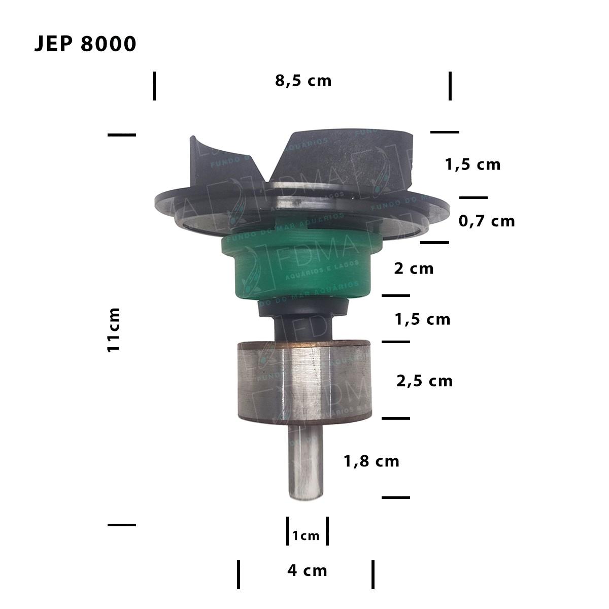Impeller Rotor para Bombas SUNSUN - JEP 8000