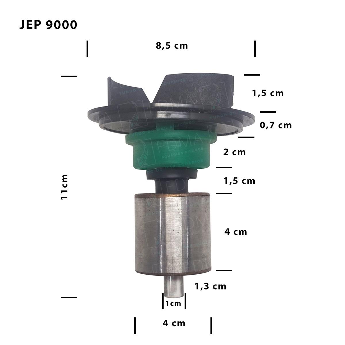 Impeller Rotor para Bombas Sunsun - JEP-9000
