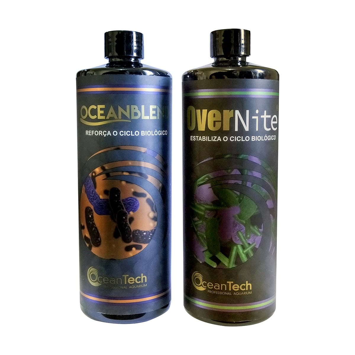 Kit Biológico Ocean Tech Ocean Blend + Over Nite - 250ml