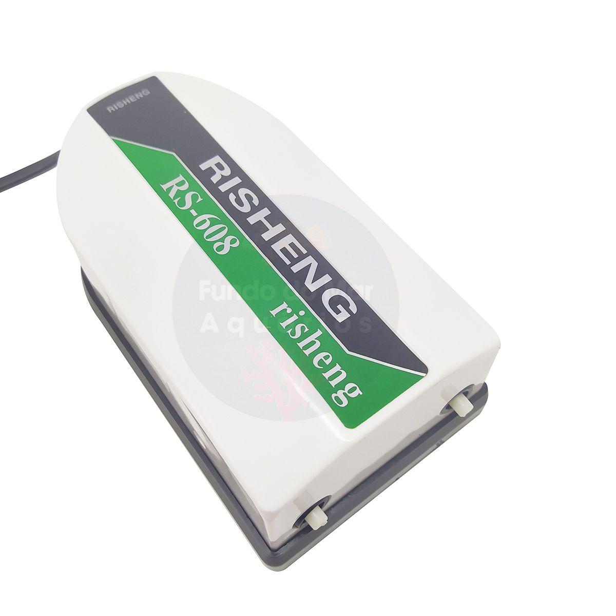 Kit Completo Compressor de Ar RS Electrical  RS 608 220v