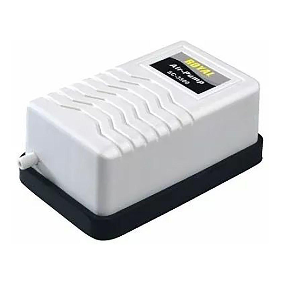 Kit Compressor De Ar Boyu SC-3500 para Aquários 127v