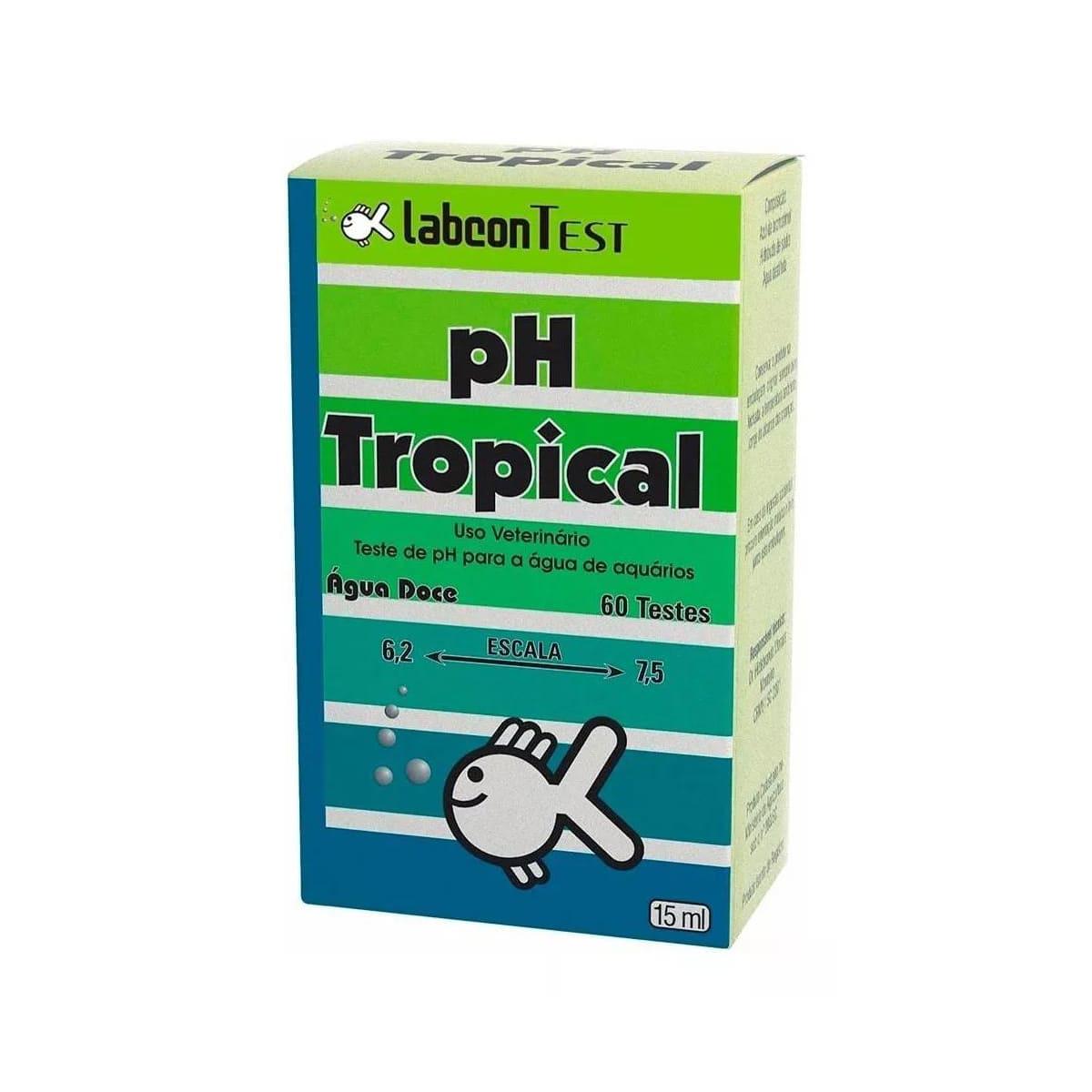 Kit Controle de pH Labcon Teste Ph+Acid+Alcali+Anticlor